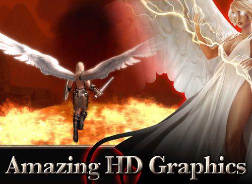 Epée d'ange pour iPhone gratuitement