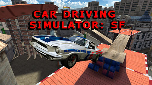 Car driving simulator: SF screenshot 1