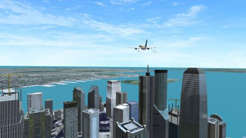 Boeing flight simulator 2014 screenshot 1