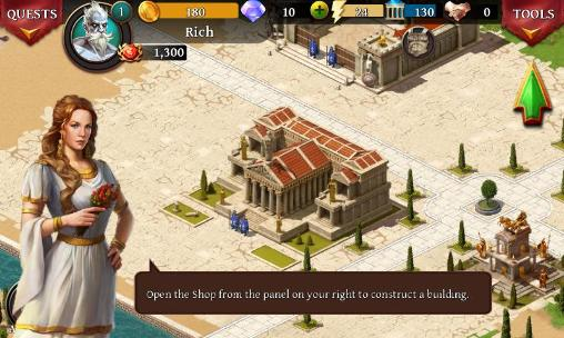 Online games: download Age of Sparta to your phone