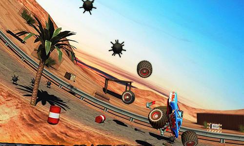 Arcade Monster truck rider 3D für das Smartphone