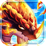 アイコン Dragon x dragon: City sim game