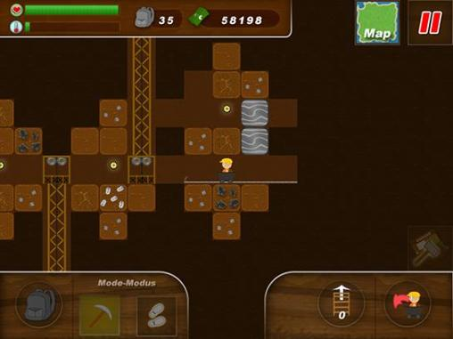 Treasure miner: A mining game auf Deutsch