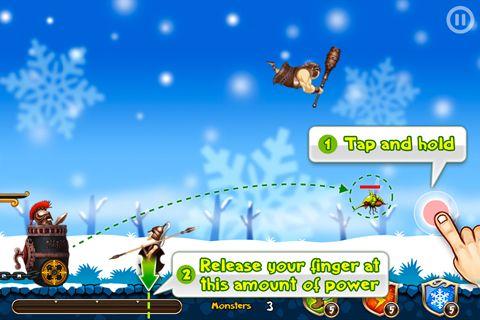 Arcade-Spiele: Lade Fliegende Abwehr auf dein Handy herunter