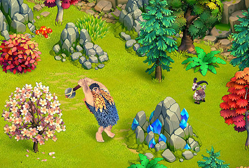 Strategiespiele Family age: Beautiful farm adventures sim für das Smartphone