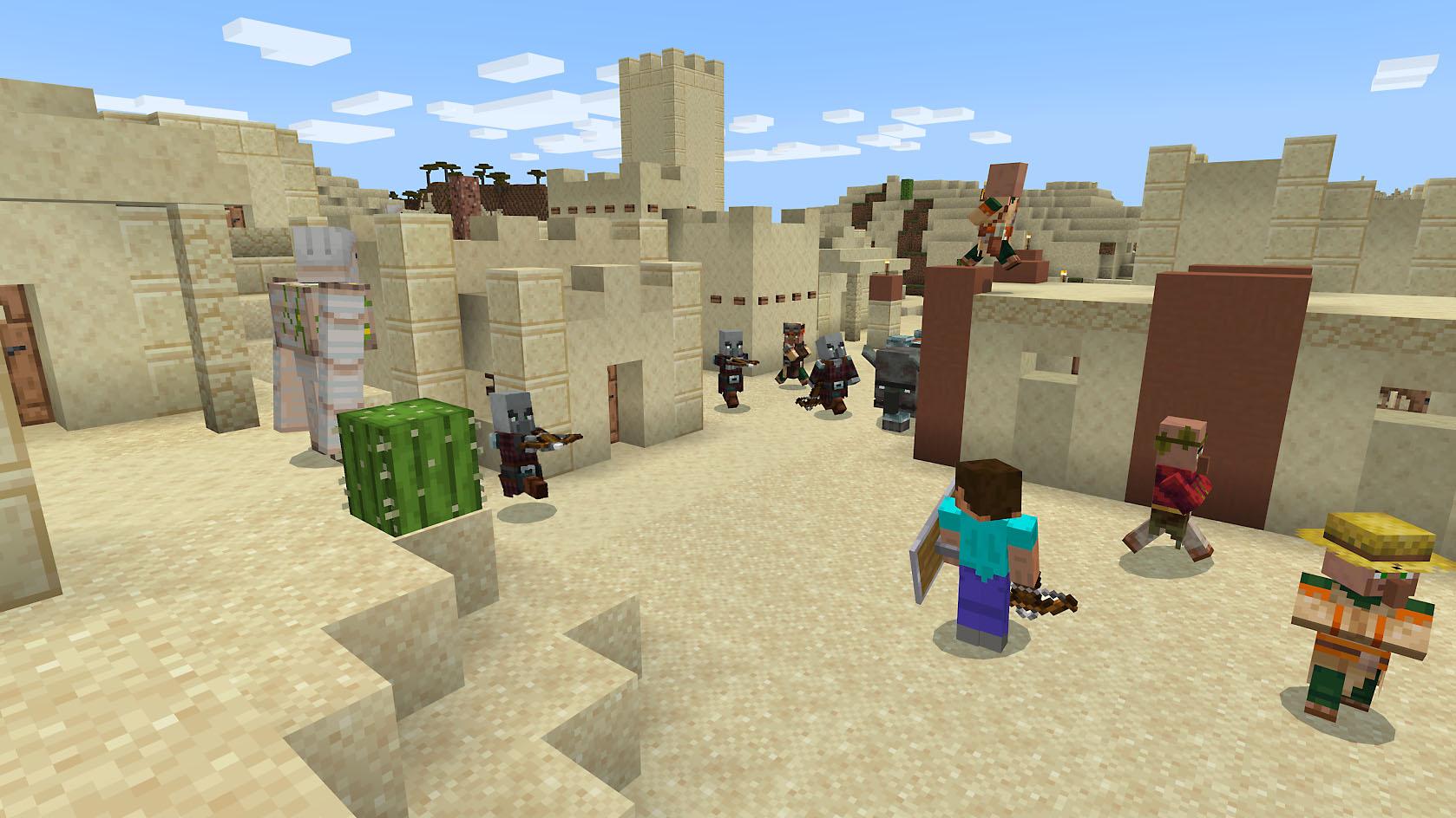 Minecraft capture d'écran 1