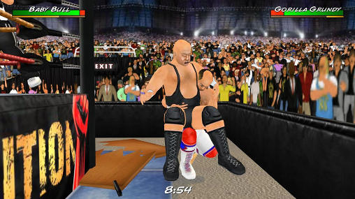 Wrestling revolution 3D captura de pantalla 1