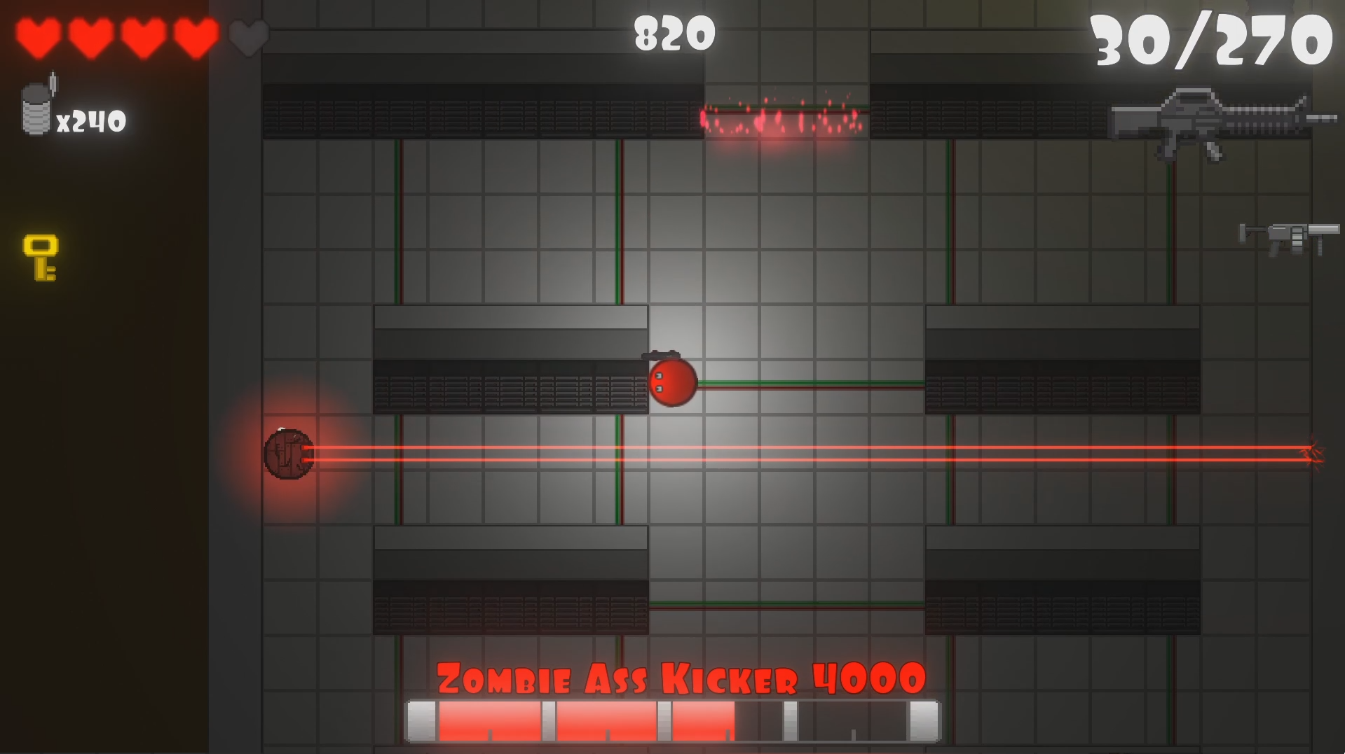 Zombie Cubes 2 screenshot 1