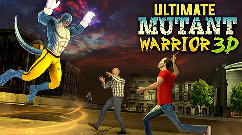 Ultimate mutant warrior 3D icon
