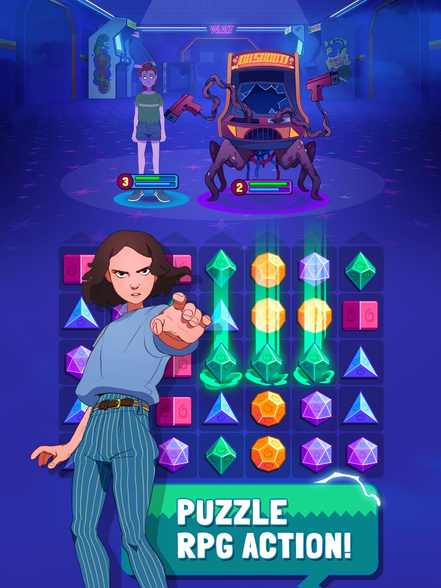 Stranger Things: Puzzle Tales screenshot 1