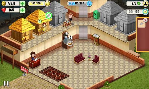 Simulation games Resort tycoon for smartphone
