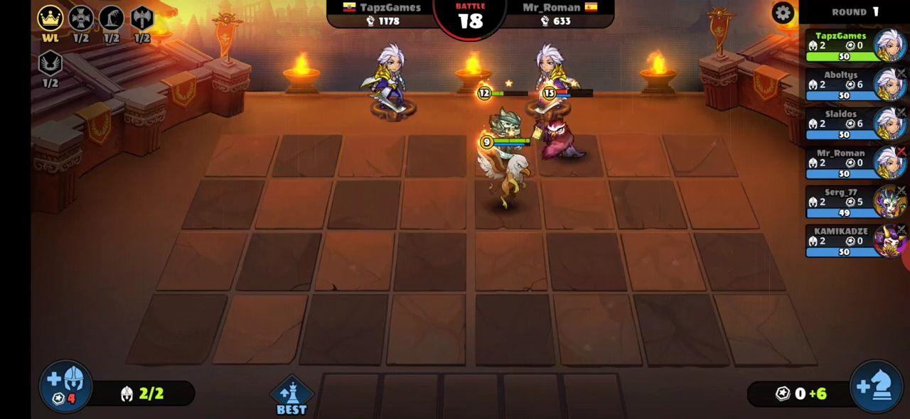 Auto Brawl Chess: Battle Royale スクリーンショット1