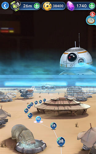 Star wars: Puzzle droids captura de pantalla 3