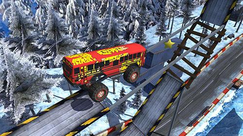 Arcade-Spiele AEN city bus stunt arena 17 für das Smartphone