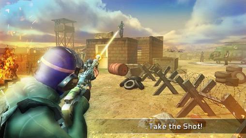 Action Silent assassin: Sniper 3D für das Smartphone