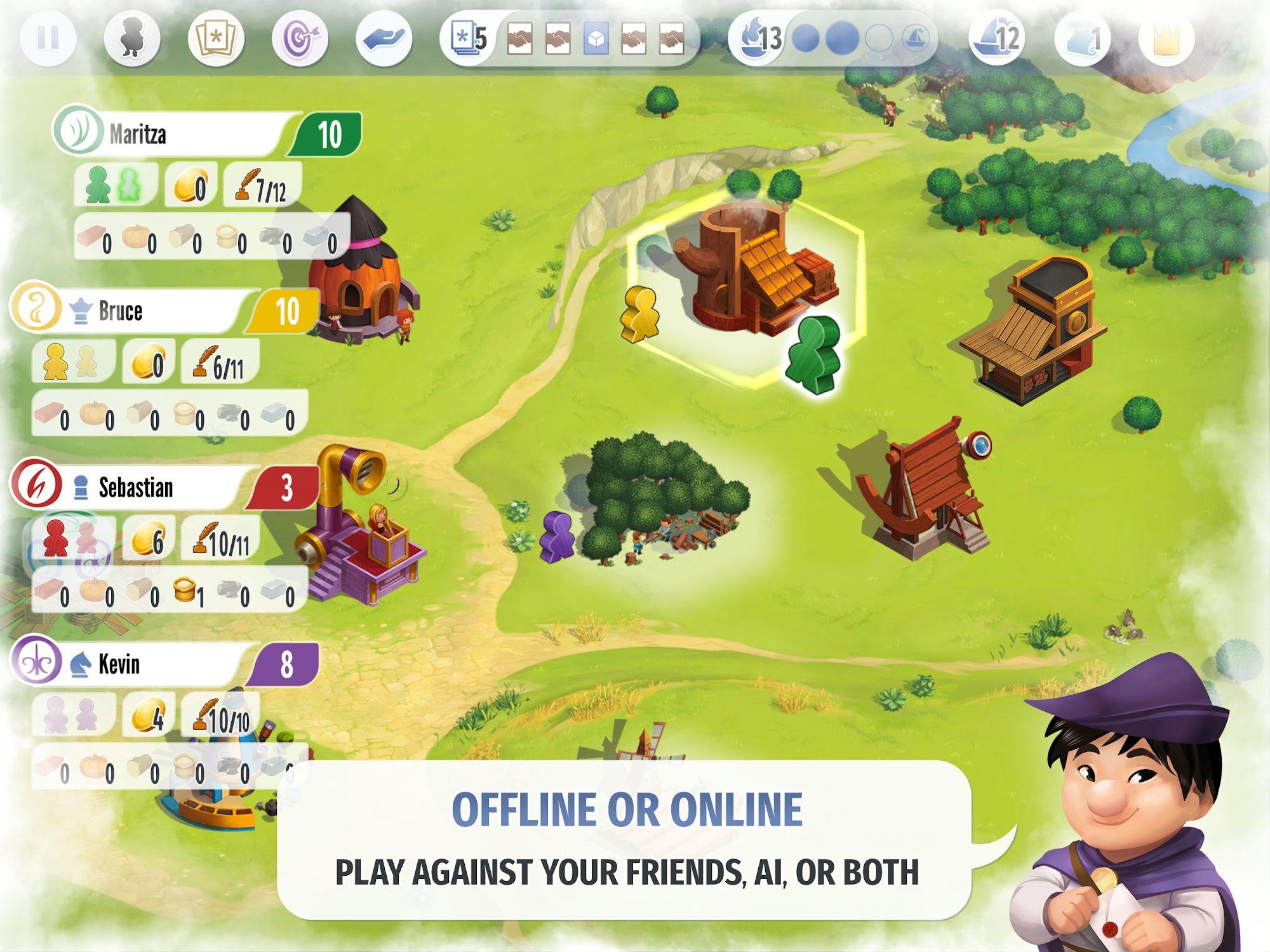 Charterstone: Digital Edition screenshot 1