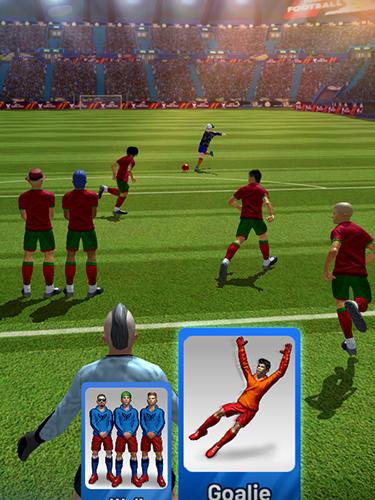 Cristiano Ronaldo: Soccer clash captura de tela 1