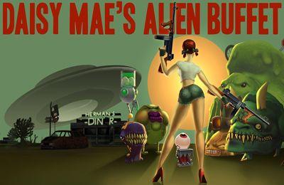 logo Daisy Mae l'Exterminatrice des Extraterrestres