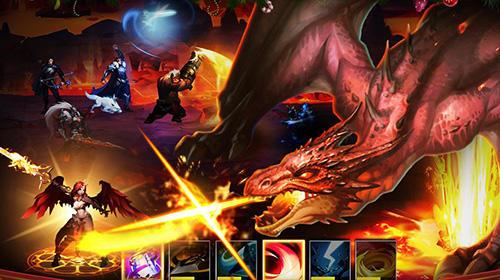 RPG League of angels: Paradise land für das Smartphone