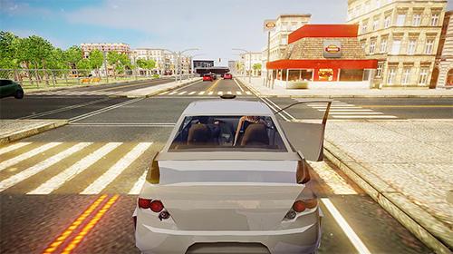 Autospiele Driver simulator für das Smartphone