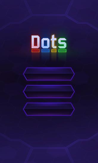 Flow dots: Cyber lines 3D Symbol