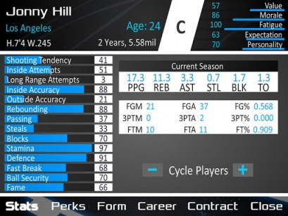 Basketball dynasty manager 14 für Android