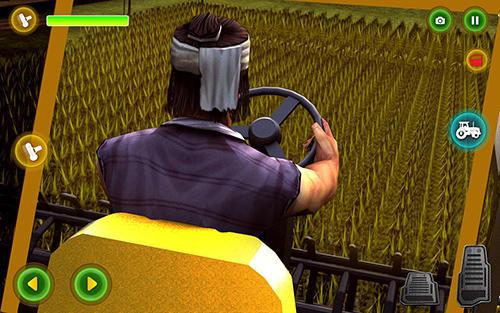 Modern tractor farming simulator: Real farm life für Android