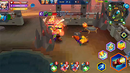 RPG-Spiele Pixel wars: MMO action für das Smartphone