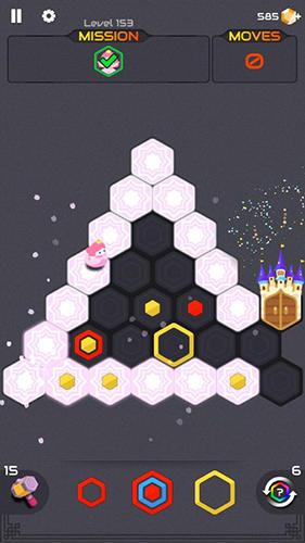 Hexa blast: Block puzzle для Android