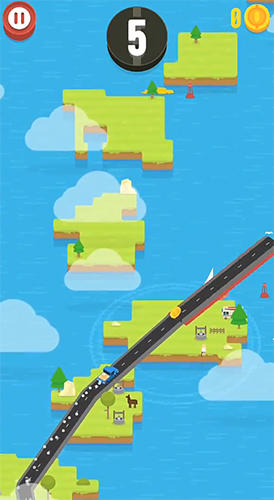 Hardway: Endless road builder para Android