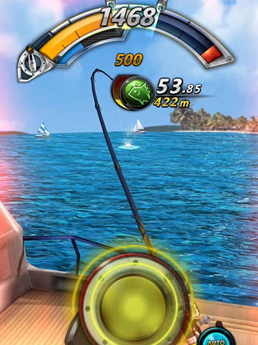 Fishing tour: Hook the big fish! для Android