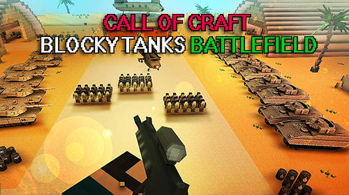 Call of craft: Blocky tanks battlefield capture d'écran 1