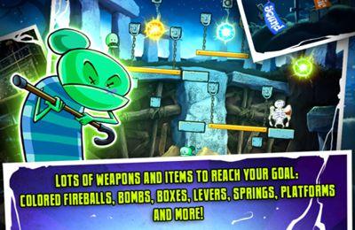 Screenshot Zombie-Oma auf dem iPhone