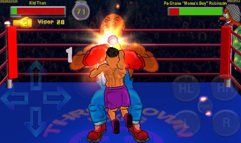 Throwdown Boxing 2 captura de pantalla 1