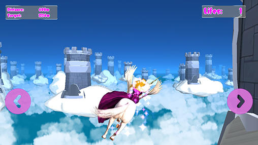 Princess unicorn: Sky world run para Android