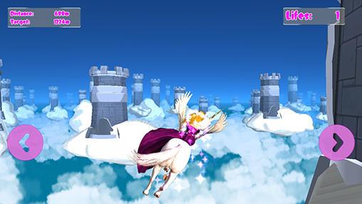 Princess unicorn: Sky world run pour Android