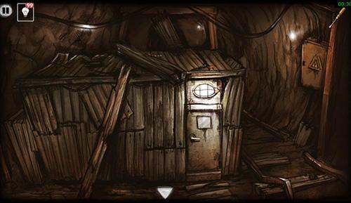 Abandoned mine: Escape room auf Deutsch