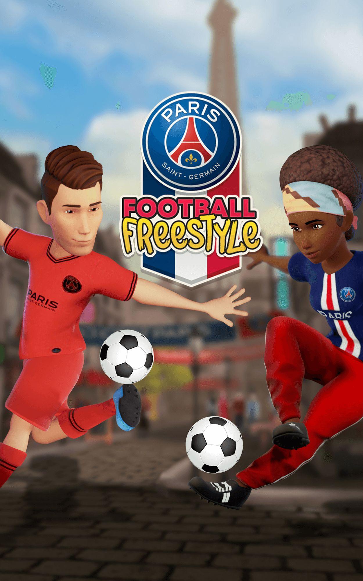 PSG Soccer Freestyle capture d'écran 1