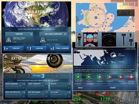 Simulator-Spiele: Lade Extreme Landungen Pro auf dein Handy herunter
