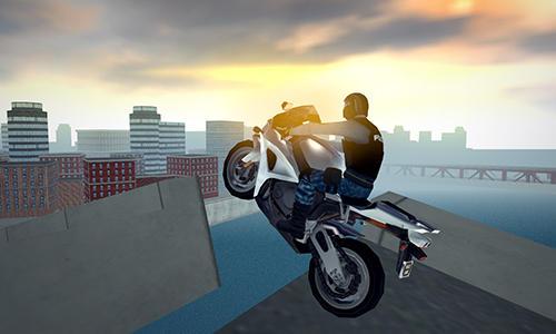 Rennspiele Police motorcycle crime sim für das Smartphone