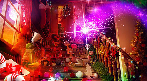 Hidden objects: Christmas magic para Android