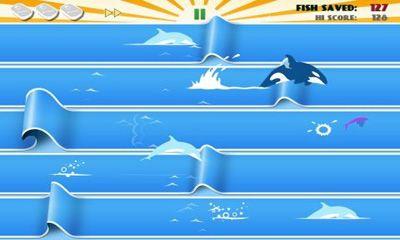 d'arcade Fish Odyssey pour smartphone