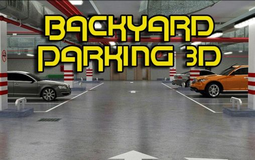 Backyard parking 3D captura de tela 1