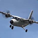 Island bush pilot 3D Symbol