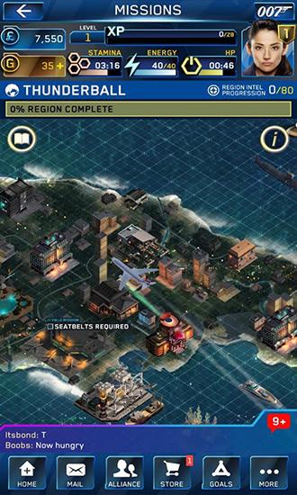 RPG James Bond: World of espionage für das Smartphone