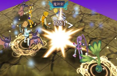 Tales of the World Tactics Union for iPhone