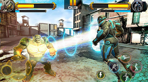 Superhero fighting games 3D: War of infinity gods für Android