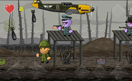Actionspiele Sergeant Mahoney and the army of sinister clones für das Smartphone