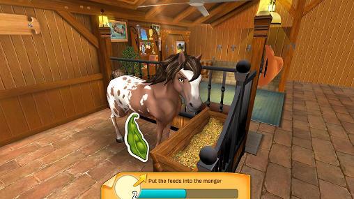 Simulation Horse haven: World adventures pour smartphone