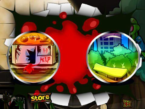 Arcade-Spiele: Lade Super Zombie Ninja vs. Zombies World auf dein Handy herunter